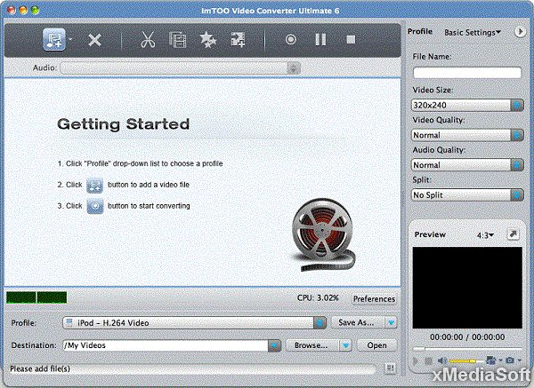 ImTOO Video Converter Ultimate for Mac