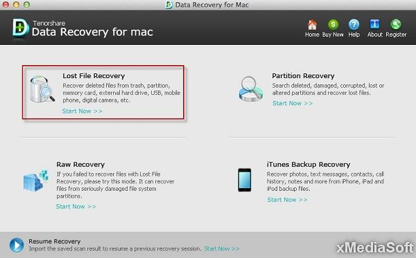 Tenorshare 4DDiG - Mac Data Recovery