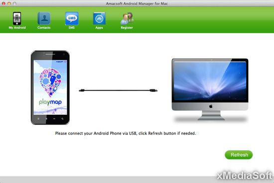 Amacsoft Android Manager for Mac