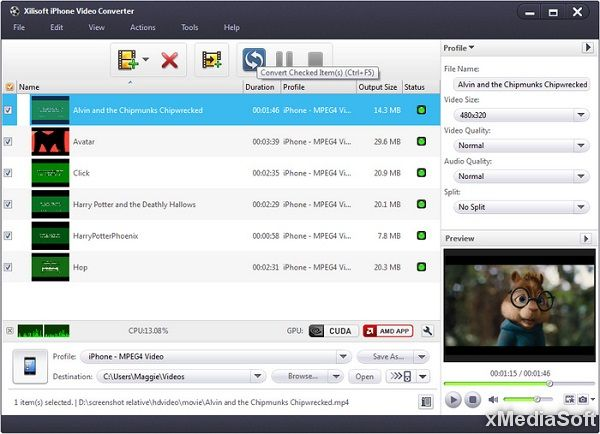 Xilisoft iPhone Video Converter