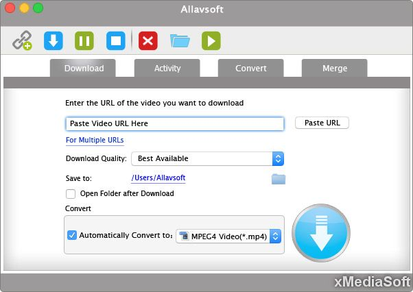 Allavsoft Downloader & Converter for Mac