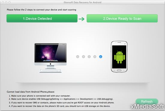 iStonsoft Mac Data Recovery for Android