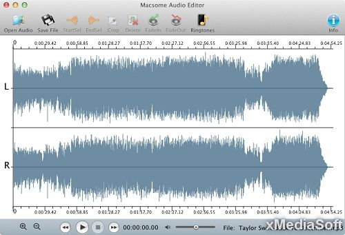 Macsome Audio Editor for Mac