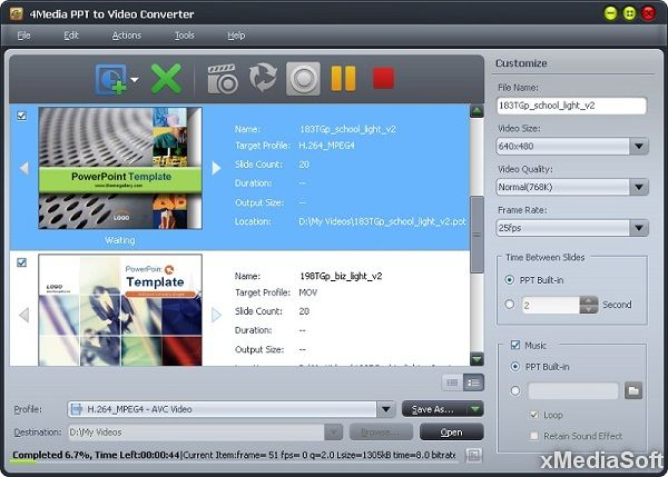 4Media PPT to Video Converter