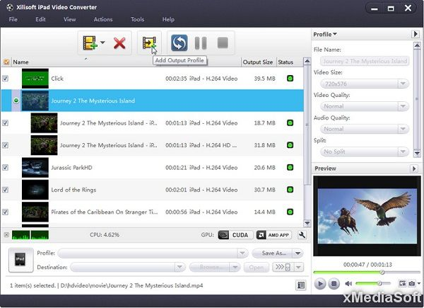 Xilisoft iPad Video Converter