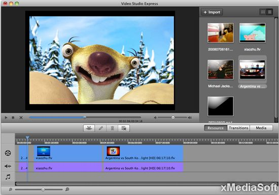 Aimersoft Filmora Video Editor for Mac