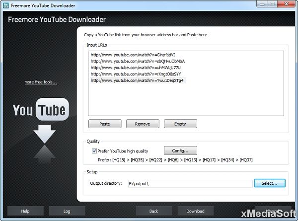 Freemore YouTube Downloader
